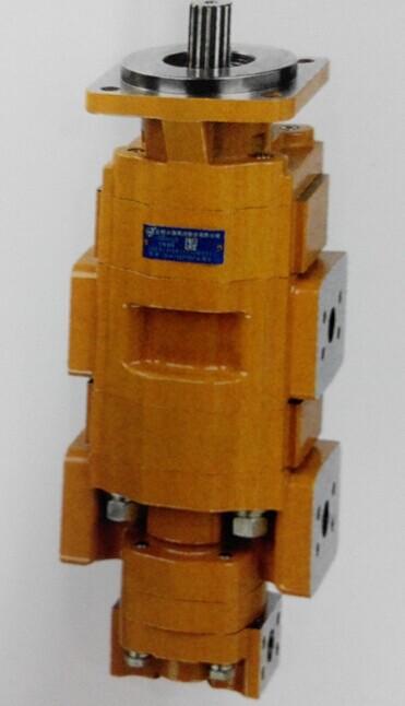 三联齿轮泵 长源液压油泵cbvh系列三联齿轮油泵壳体采用高强度铝合金图片